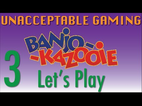 Let's Play Banjo-Kazooie Ep3: Terminators and Garbage Disposals