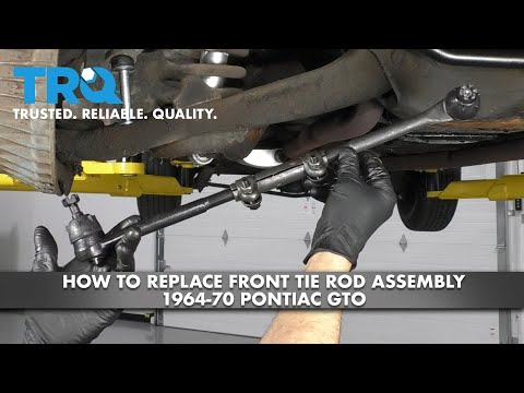 How to Replace Front Tie Rods 64-70 Pontiac GTO