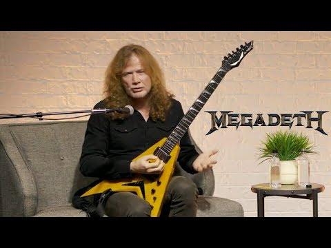 Megadeth's Dave Mustaine Talks Spider Chord Guitar Technique