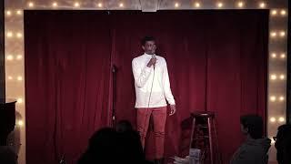 Tanzanian-American Comedian, Zul Manzi at Broadway Comedy Club