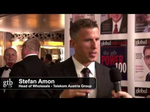 Stefan Amon of Telecom Austria Group at the GTB Innovation Awards 2013