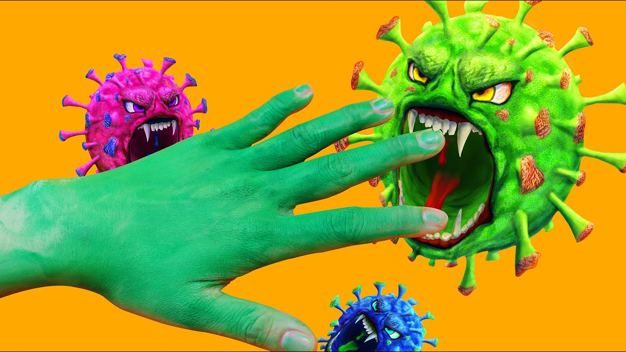 Stop Motion Cooking Virus | Corona in Here