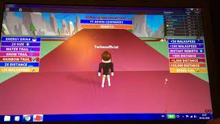 We must become thick 😂-sprinting Simulator Roblox