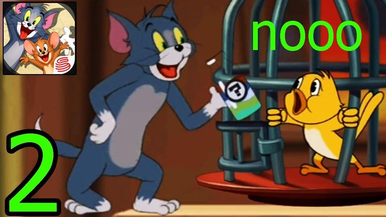 Tom And Jerry - Bắt Chim Vàng Anh Về Ngâm Rượu - Gameplay Walkthrough #2  (iOS, Android) - YouTube
