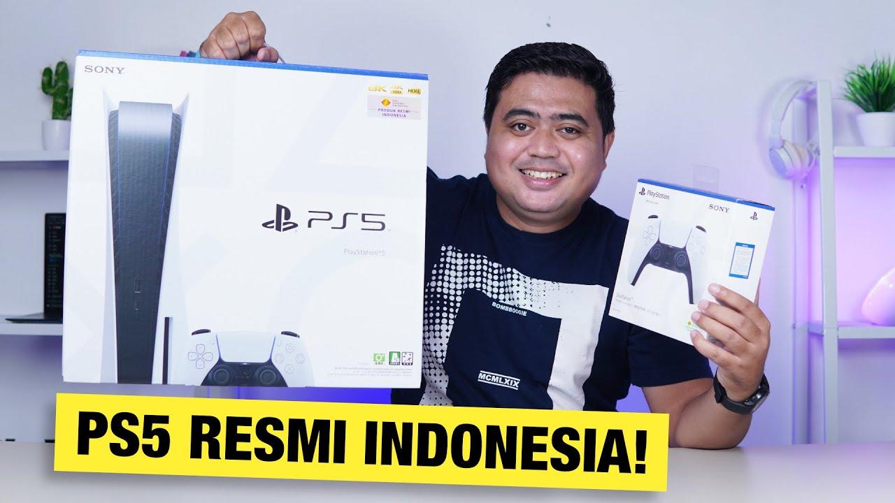 ⚡️ Akhirnya Kebagian PS5 RESMI INDONESIA! Apa Bedanya..?? (Unboxing, Setup, dan Review Singkat)