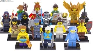 lego minifigures series 15 Review