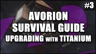 AVORION Survival Guide 3: Upgrading with Titanium - Energy Generator & Integrity Fields