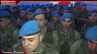 180 komando Tokat'tan, Suriye'nin El-Bab şehrine uğurlandı