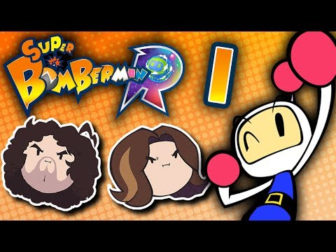 Super Bomberman R: Explosions Galore - PART 1 - Game Grumps VS