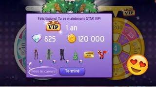 MSP COMMENT ETRE VIP 1 AN STAR GRATUITEMENT