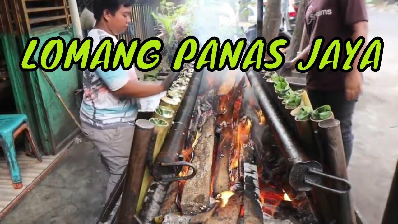 KULINER JADUL RAIH OMSET RATUSAN JUTA !! LOMANG PANAS JAYA - INDONESIAN STREET FOOD - MEDAN