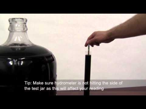 How to use a Hydrometer - using the Potential Alcohol Scale