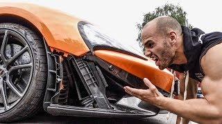 Bei 317 Kmh - McLaren fällt auseinander!