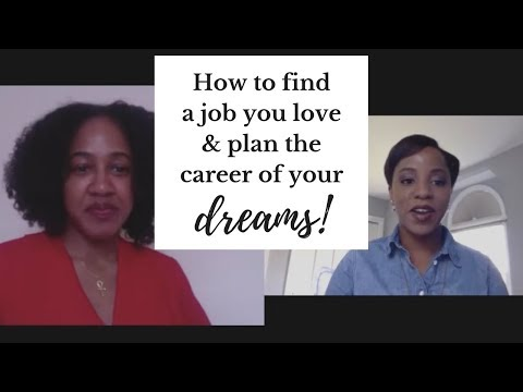 Finding a job you love, building the career of your dreams & your finances (Video chat replay)
