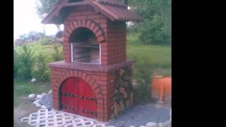 grill z cegły i kamieni- wersja HD