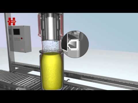 Endless liner drum filling - A save way to handle bulks solids like APIs