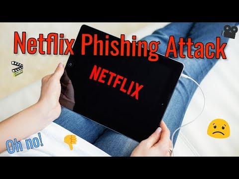 Phishing Attack On Netflix Users! ~ Hacker Daily 10/16/17