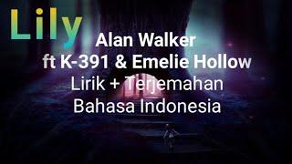 Lily Alan Walker Lirik dan Terjemahan