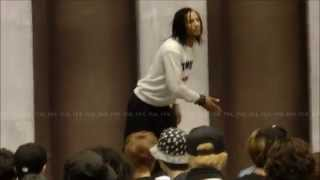 Les Twins Workshop in Tokyo -Warm Up- Part 2 7/29/2015