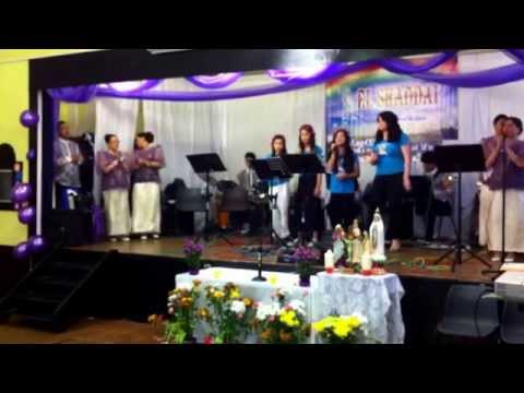 El Shaddai Newcastle 7th anniversary Happy Days ( Youth for El Shaddai UK Chapter)