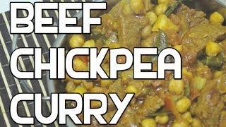 Beef & Chickpea Curry Recipe - Indian Massala