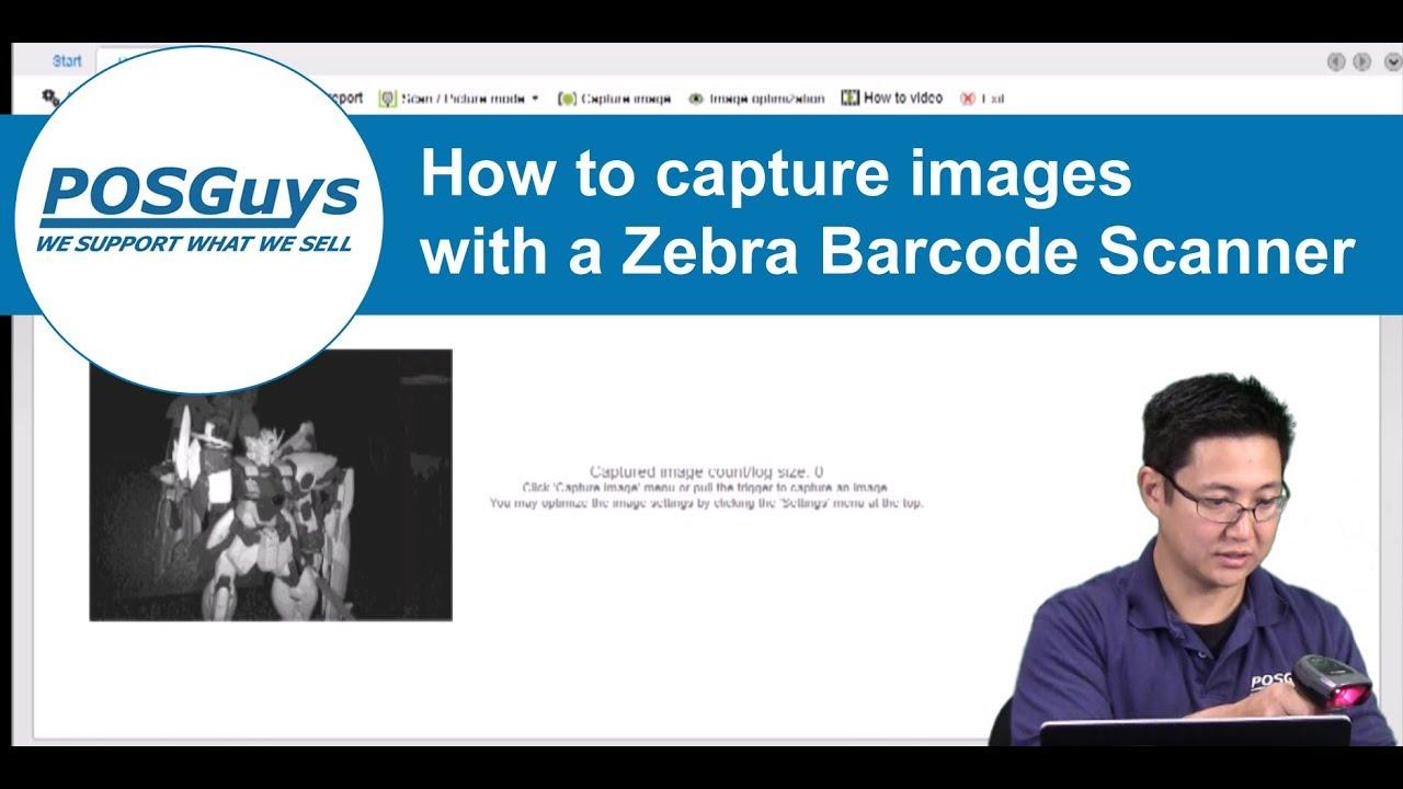 How to use a Zebra imager to take photos Blog Post | POSGuys com