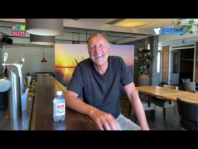 Michiel Oostenbrink in de uitzending van Kop d'r Veur op 24 juni 2020