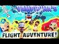 Vampirina's Flight Adventure! Featuring Shimmer and Shine, Aladdin, Jasmine, and the Storm King!