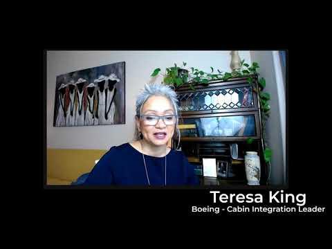 Testimonial - Teresa King, Boeing Cabin Integration Leader