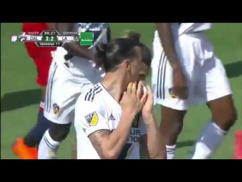 What a free kick from Zlatan 😮🚀 ( LA Galaxy 2 Dallas 3)
