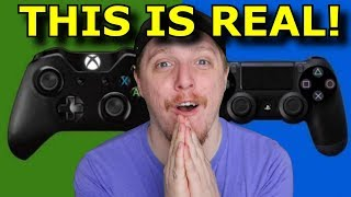 Sony and Microsoft Are Teaming Up for GAMING?! Ps4 Works with Xbox!