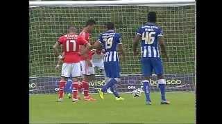 Futebol - Segunda Liga (39.ª j): FC Porto B-Benfica B, 4-1 (19/04/2014)