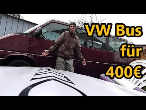 VW T4  Multivan  --  Ein neues Bus-Projekt für 2019
