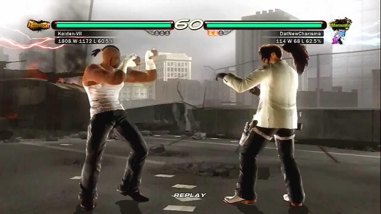 Tekken 6 Baek Vs Bruce Irvin Psn Ranked Youtube