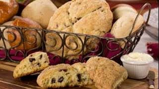 Old Fashioned Cranberry Scones