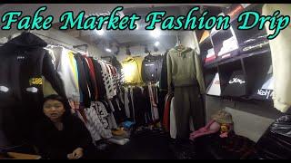 Fashion drip hypebeast designer fake market