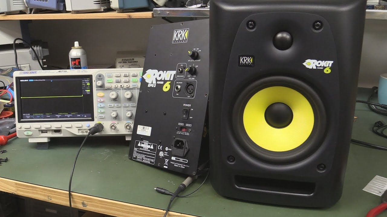 Eevblog 1072 Krk Rokit 6 Studio Monitor Speaker Repair Youtube