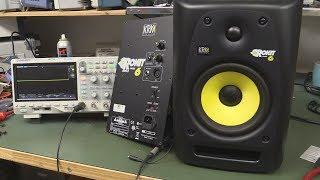 EEVblog 1072 KRK Rokit 6 Studio Monitor Speaker Repair