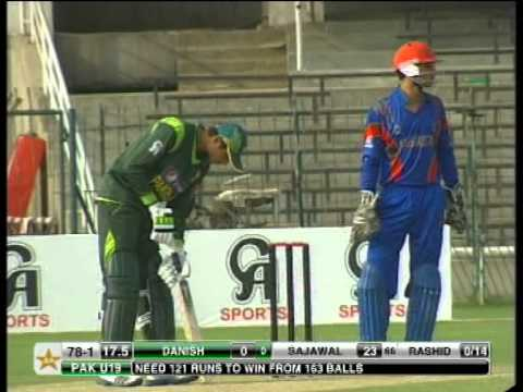 Pakistan Vs Afghanistan U19 - PART 6 thumbnail