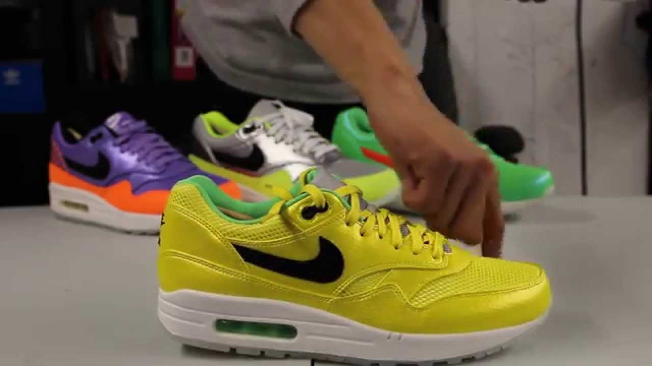super popular c440b 92763 ... best price nike air max 1 fb premium qs mercurial pack yellow unboxing  video at exclucity