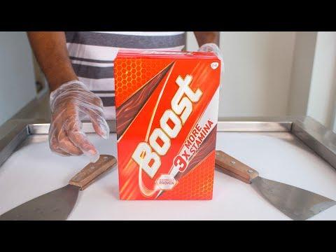 BOOST ICE CREAM ROLLS - SATISFYING ASMR