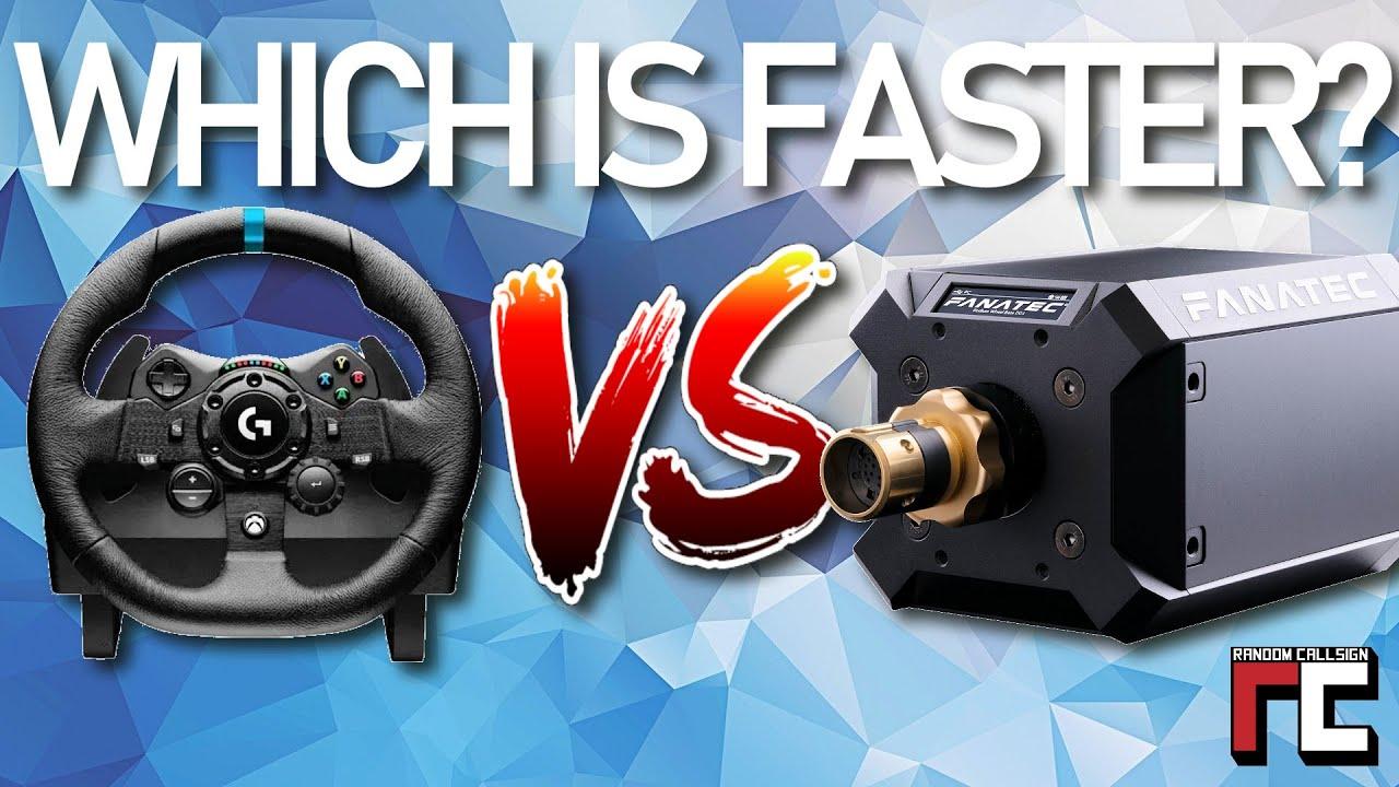 Sim Racing Hardware Logitech G923 VS Fanatec DD1