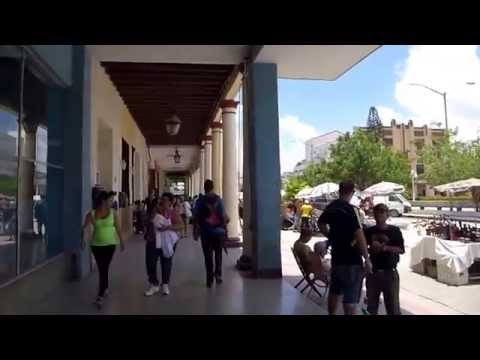 Walking the City centre of Holguín Cuba