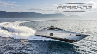 Pershing 70 Yacht - Speed Boat Tour Inside and Outside