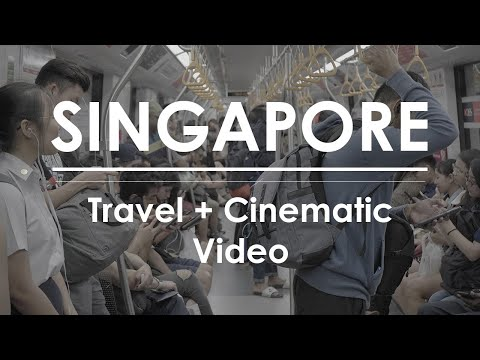 [Sony a73] | Cinematic Travel Vlog | Singapore |