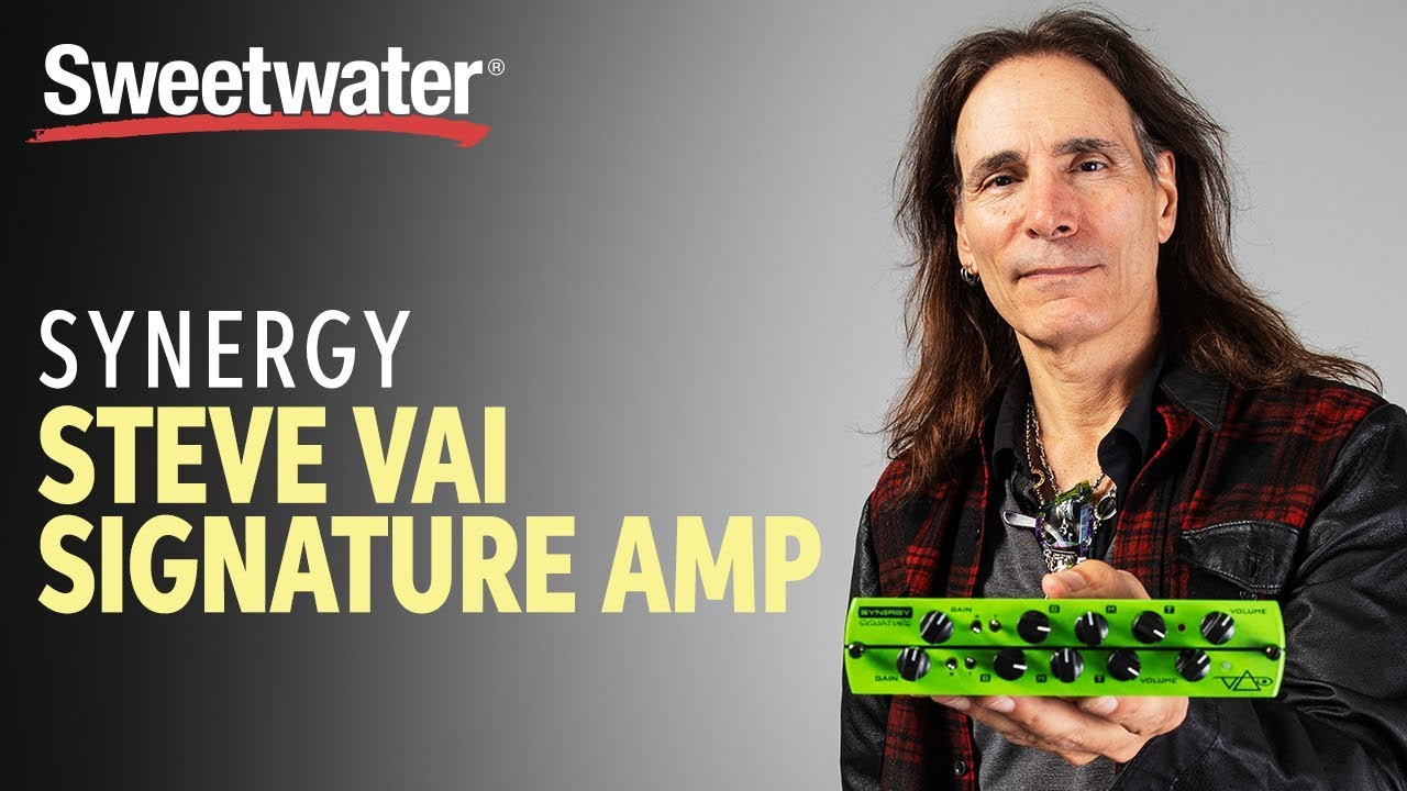 Synergy Steve Vai Signature Preamp Module Demo with Steve Vai himself