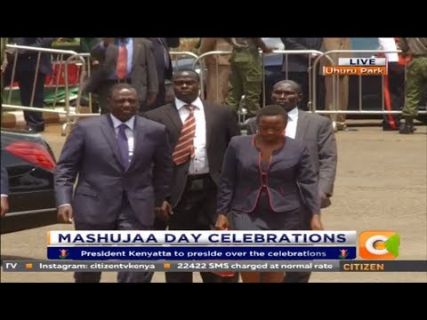 Deputy president and Nairobi Governor Mike Sonko arrives for Mashujaa Day celebrations[8th Edition]