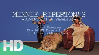(HD) Minnie Riperton's Vocal Showcase - Adventures In Paradise: F3 - B6 (3rd. Studio Album, 1975)