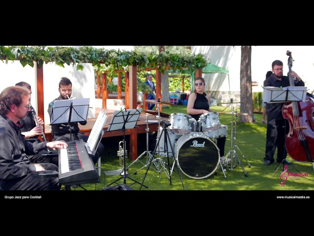 Grupo Jazz Cocktail Musical Mastia