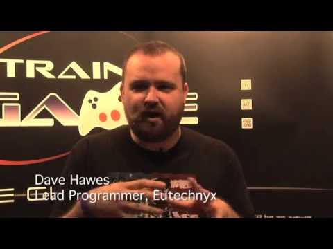 Train2Game at EuroGamer with Dave Hawes Lead Programmer at Eutechnyx